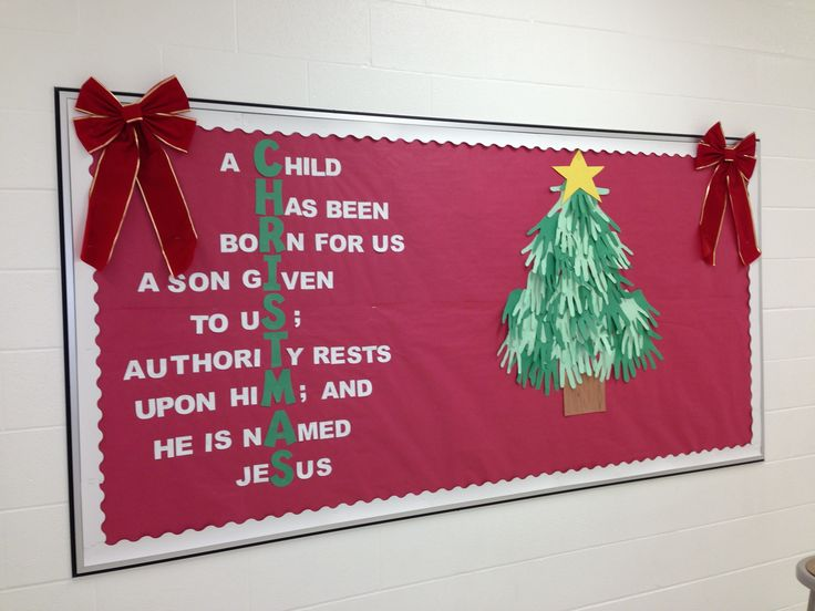 christmas bulletin board 4 - Christmas Bulletin Board Decorations