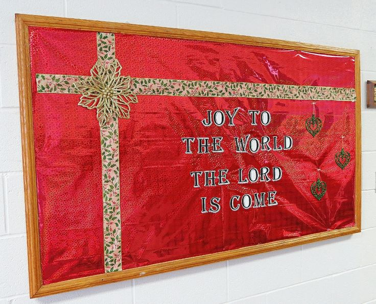 christmas bulletin board 5 joy to the world