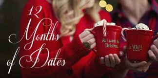 """Christmas Gift Idea """"12 Months of Dates"""""""